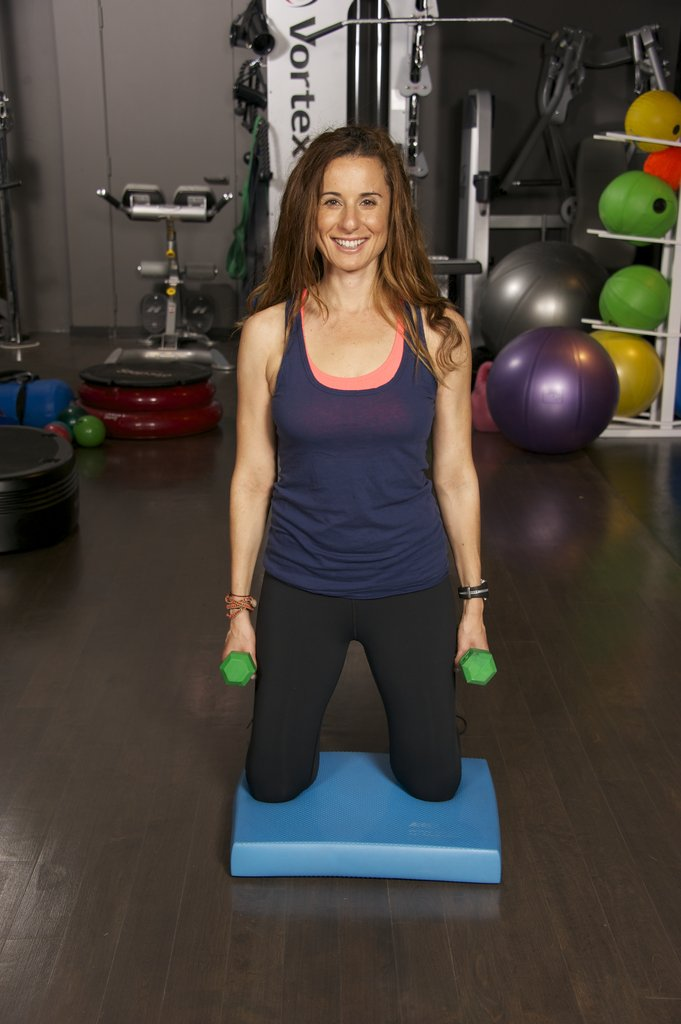 Jennifer Cohen — Shoulder Raise With Body Bend