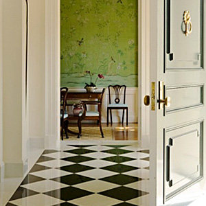 Decorating With Green and Black