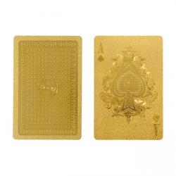 Gold Playing Card Set - IDEA