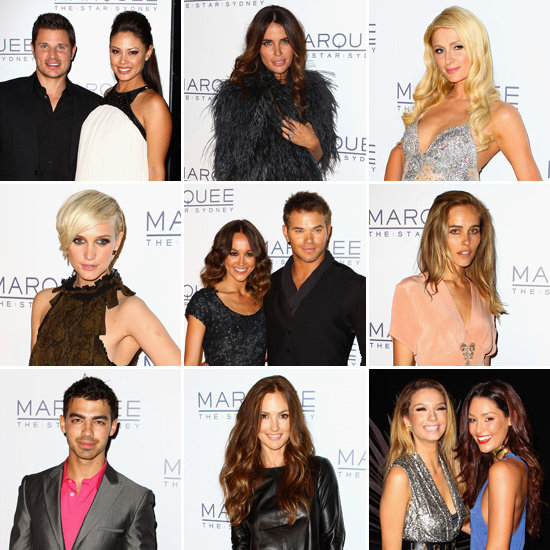 Hollywood A-Listers and Aussie Stars Party For Marquee's Sydney Launch