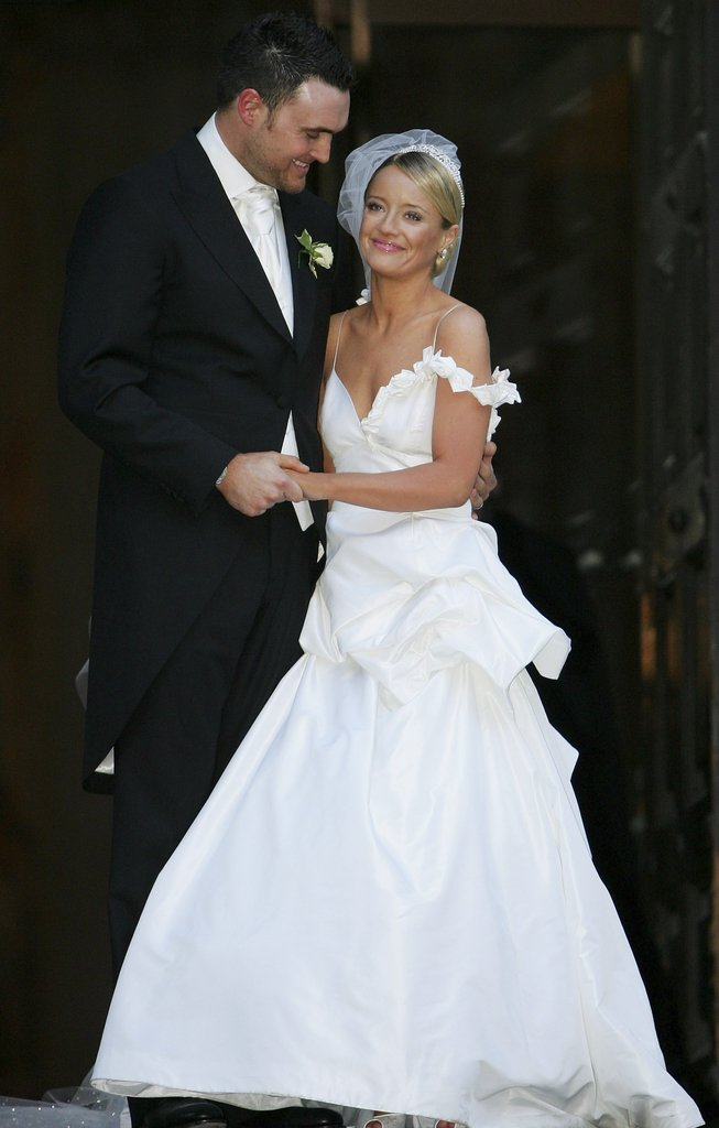 Lucy Davis tied the knot with Owain Yeoman in December 2006 in London.