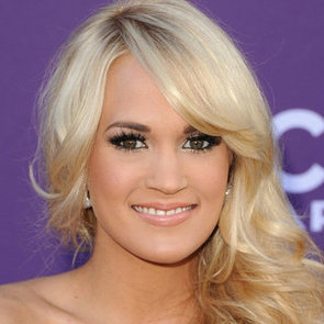 Carrie Underwood's Beauty Look at the 2012 Academy of Country Music Awards