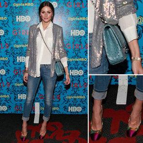 Olivia Palermo Sequin Jacket