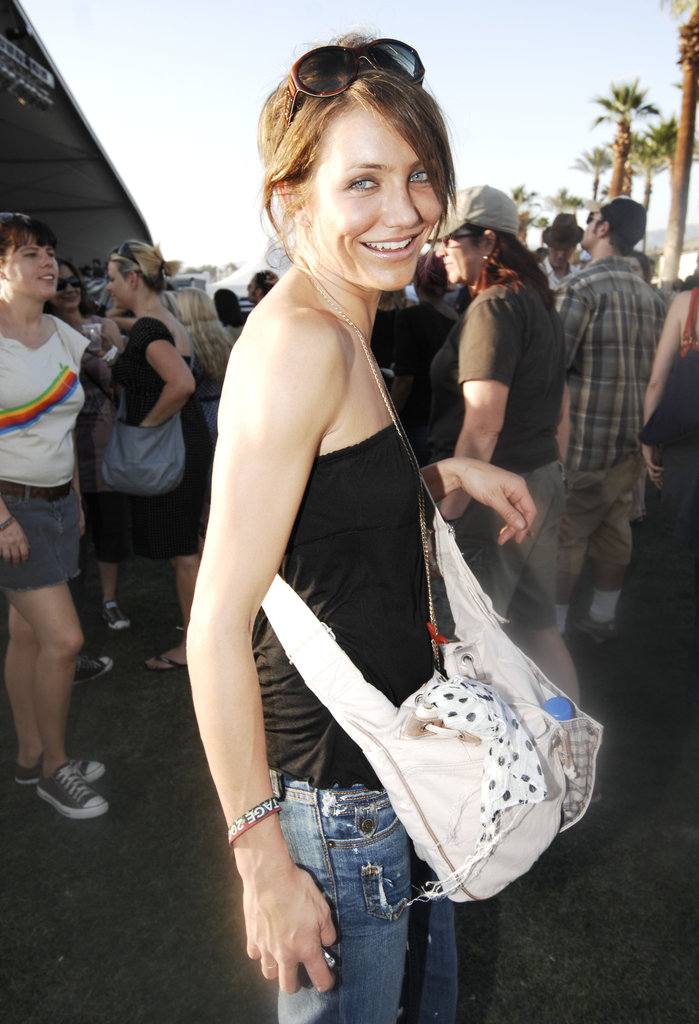 Cameron Diaz rocked out in 2007.