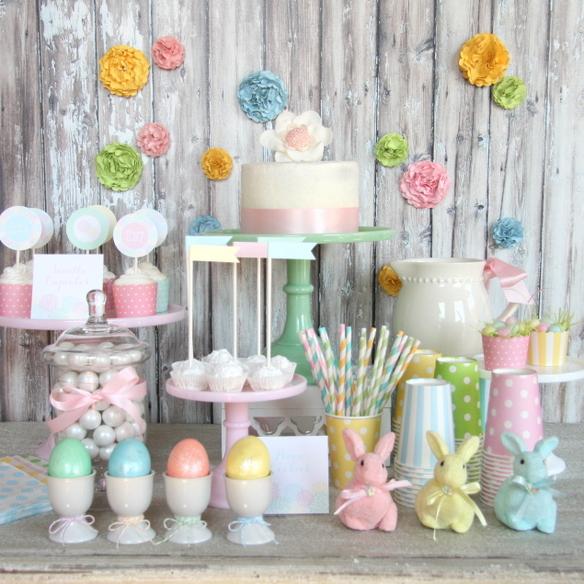 Flower Garden Easter Printable Collection