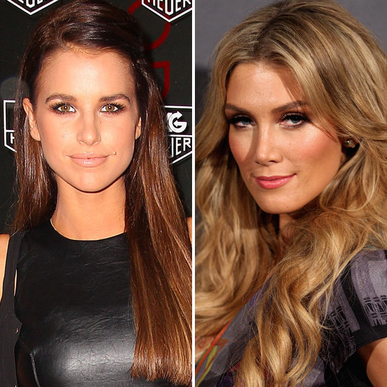 Vogue Williams Poaches Delta Goodrem's Makeup Artist Dale Dorning