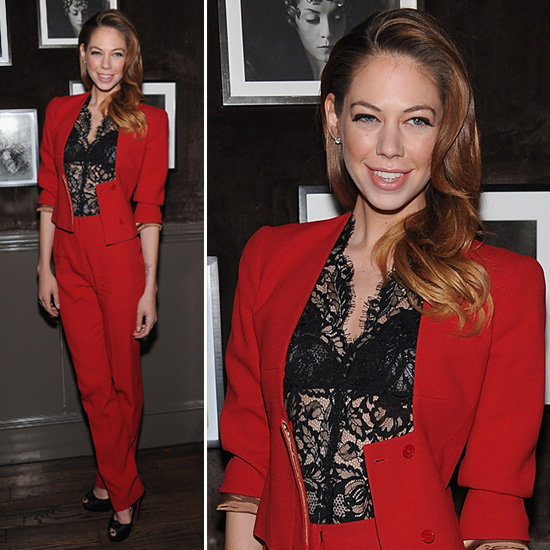 Analeigh Tipton Red Pantsuit