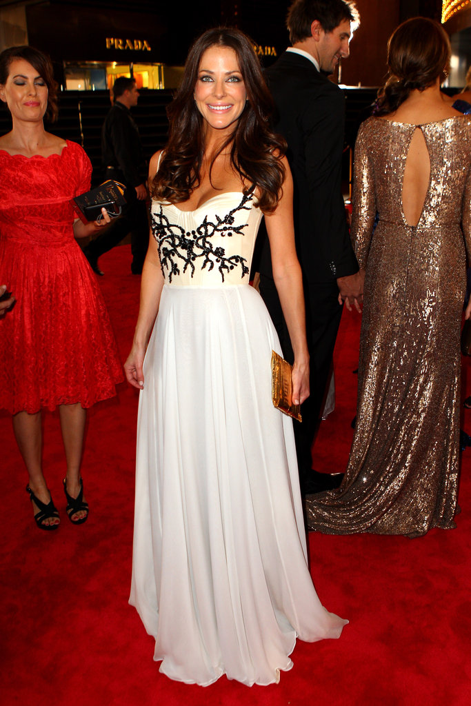 Esther Anderson Radiates in Alex Perry at the Logies
