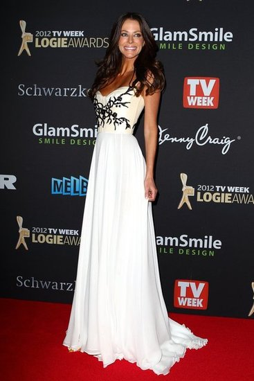 Pictures of Esther Anderson on the 2012 Logies Red Carpet Dress: Rate It or Hate It?