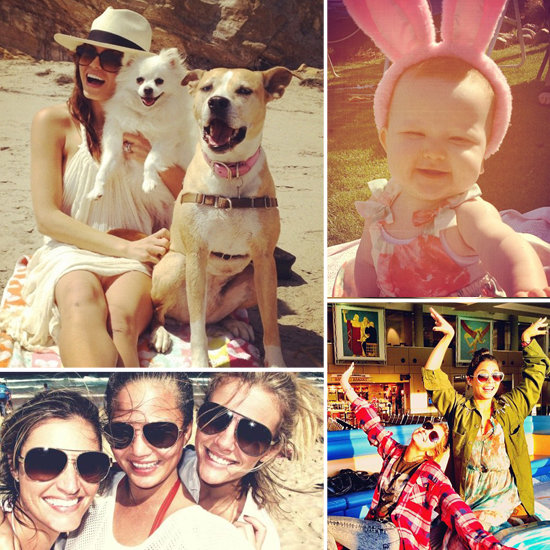 Celebrity Easter Pictures From Twitter and Social Media