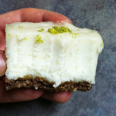 Raw Key Lime-Coconut Cream Cake Recipe