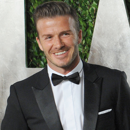 David Beckham Is Elle UK's First Male Solo Cover