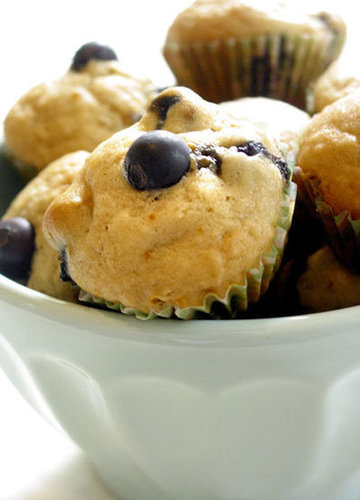 Recipes: Mini Blueberry Lemon Muffins