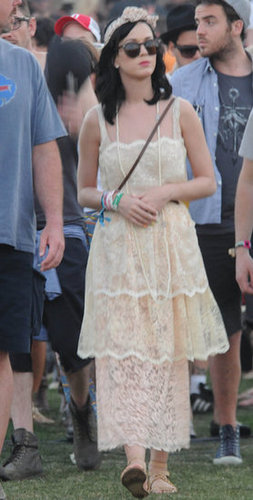 Katy Perry walked the grounds in 2011.