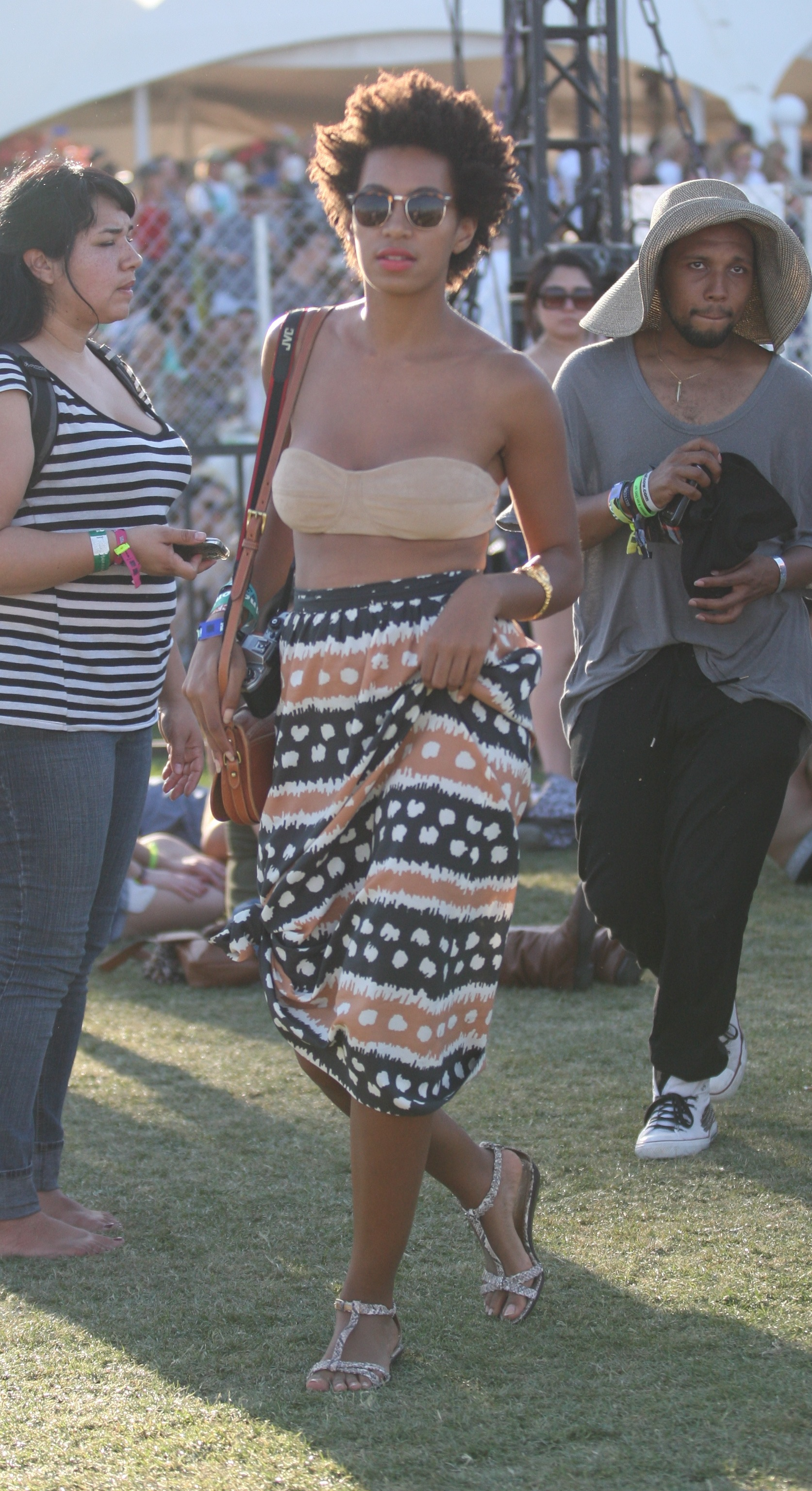 Solange Knowles showed off her eclectic style in 2011.