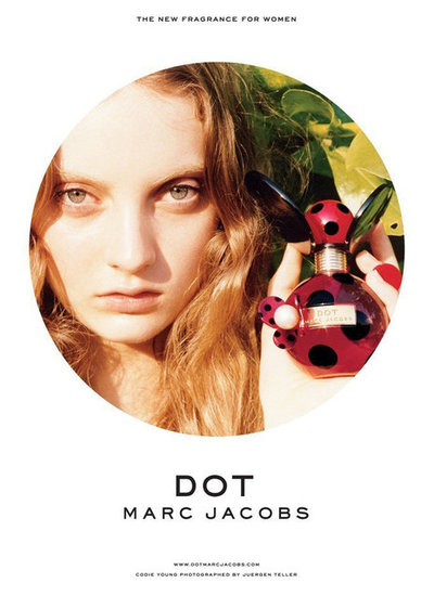 Codie Young Fronts Marc Jacobs Dot Fragrance