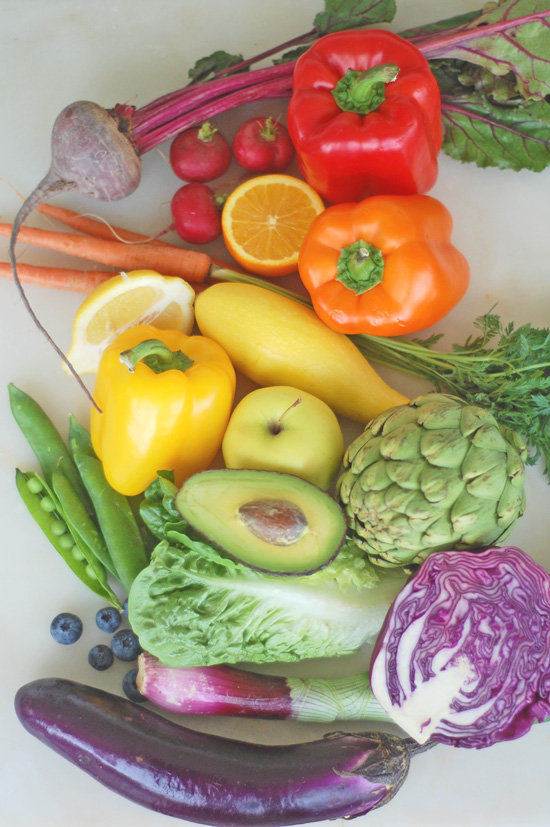 What's your favorite color of the produce rainbow?