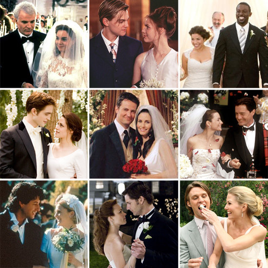 Buzz put together the ultimate TV and movie wedding slideshow. See the nuptials from Friends, Twilight, Sex and the City, and more!