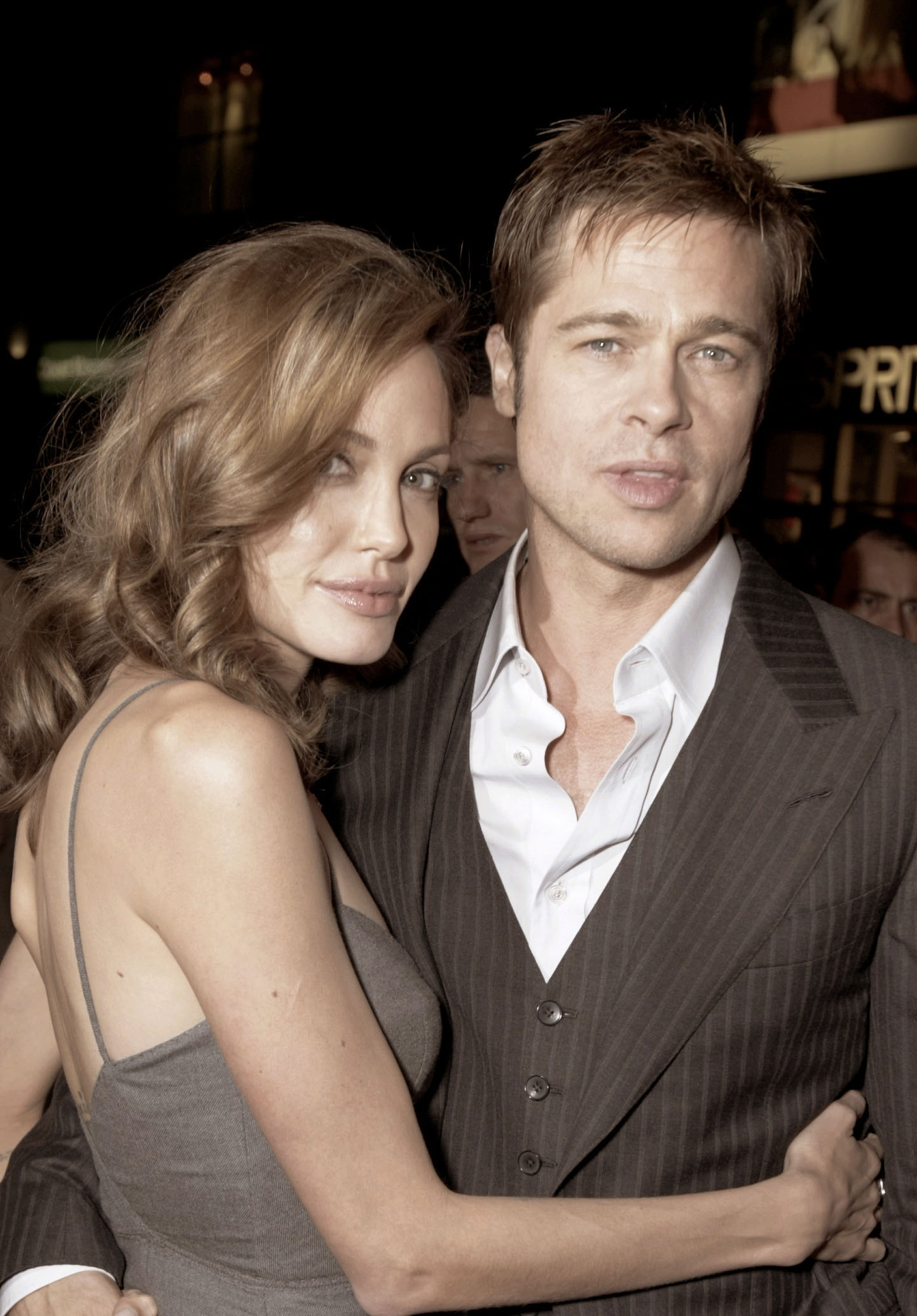 Brad Pitt premiered The Assassination of Jesse James at the 2007 Toronto International Film Festival.