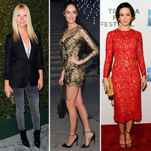 Top Ten Best Dressed Celebrities This Week Including Gwyneth Paltrow And Emily Blunt