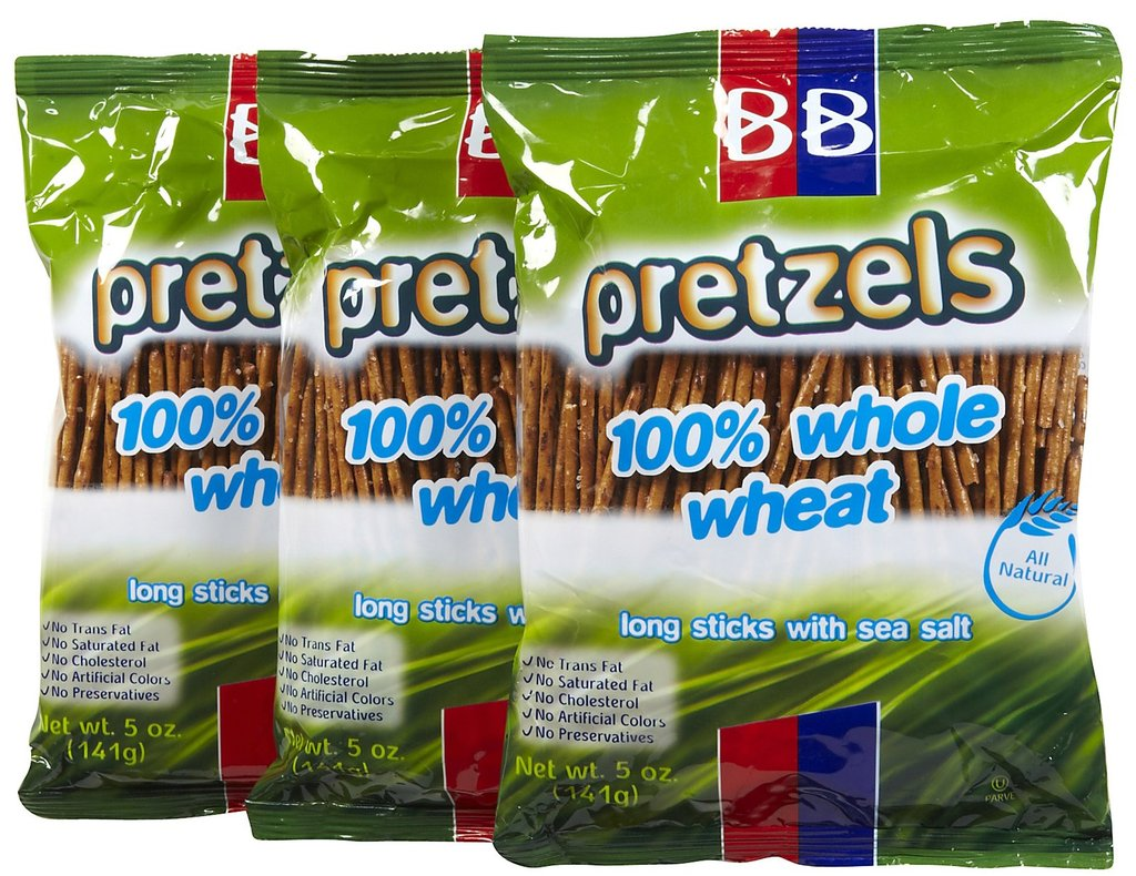 Beigel Beigel Whole Wheat Long Thick Sesame Stick