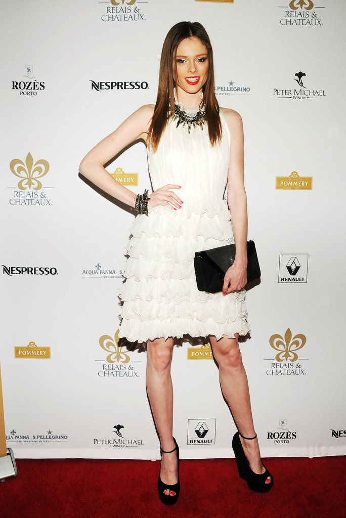 Coco Rocha attended the Grand Chefs Dinner in NYC.
