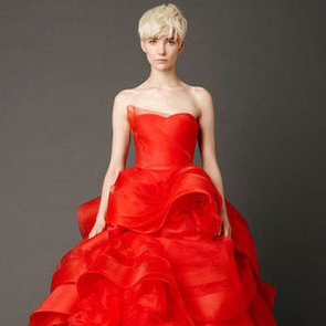 Vera Wang Spring 2013 Bridal Collection at 2013 Spring Bridal Week: See Her Red Wedding Dress Line