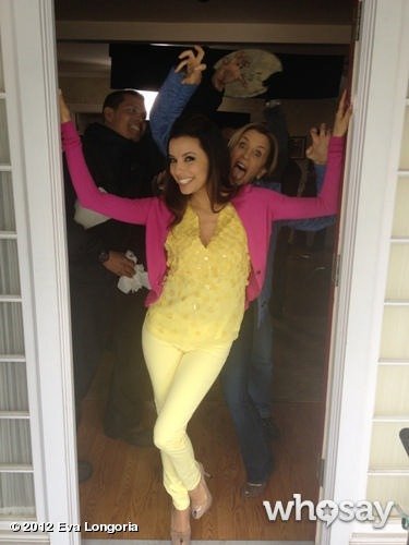 Silly on Set