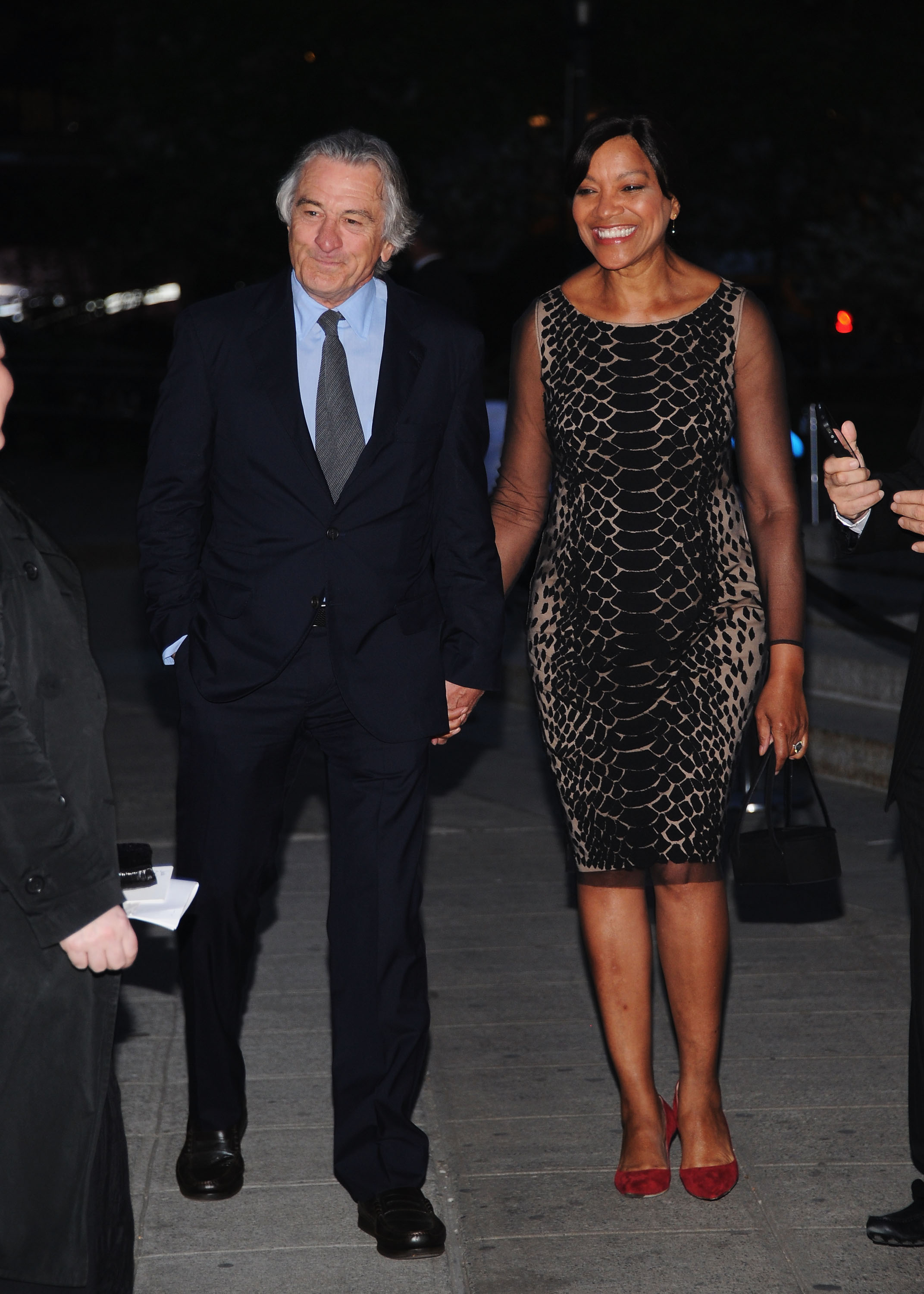 Robert De Niro arrived at the Vanity Fair Party with wife ...
