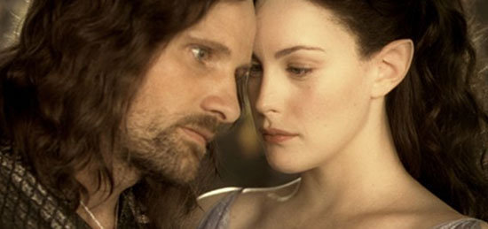 Can suggest aragorn and arwen wedding