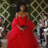 Red Wedding Gowns at Spring 2013 Bridal Week