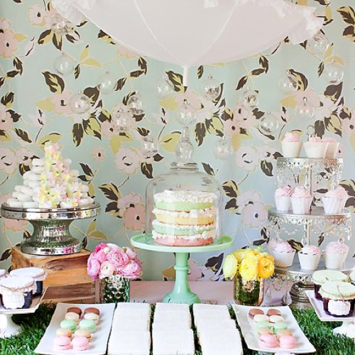 Spring Pastel Baby Shower