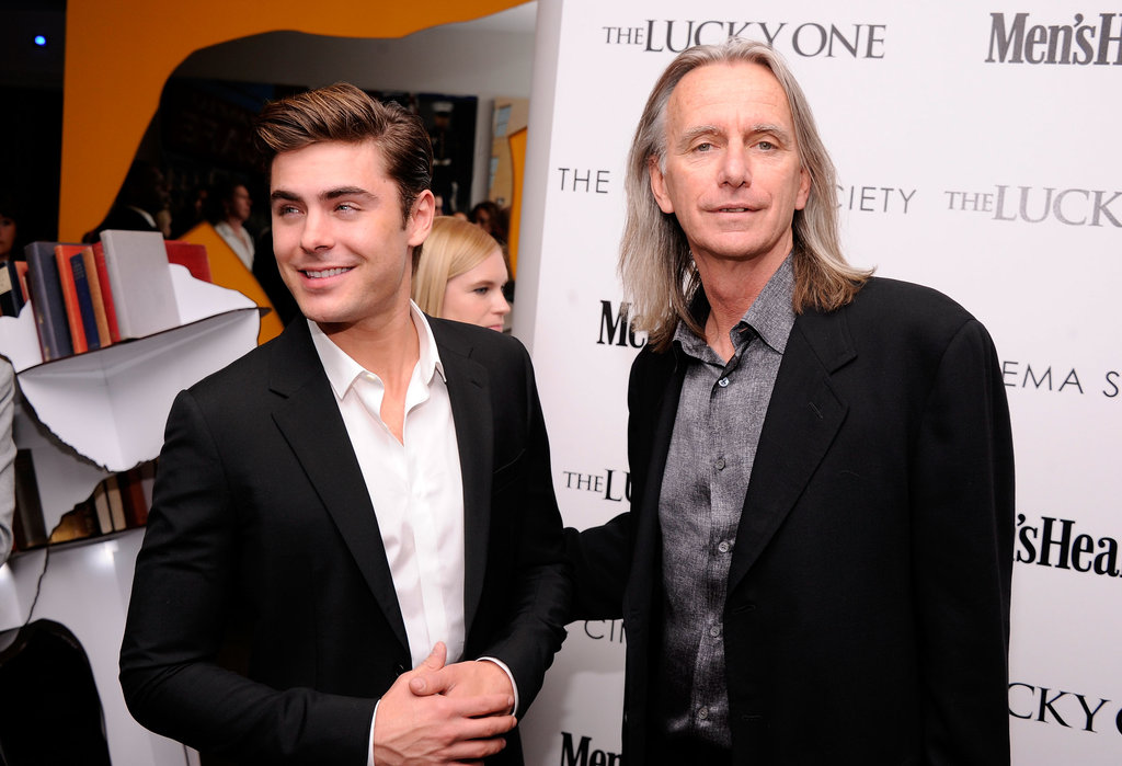 Zac Efron got together with Scott Hicks at the Cinema Society and Men's Health screening of The Lucky One in NYC.