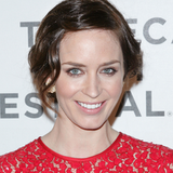 Emily Blunt in Michael Kors at Tribeca Film Festival