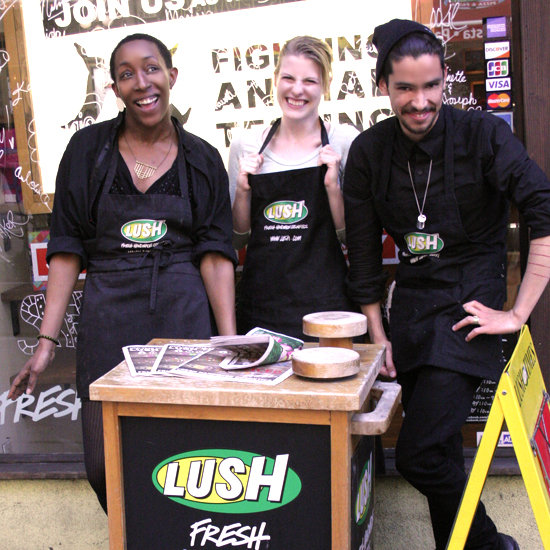 A Tour of Lush Cosmetics in SF