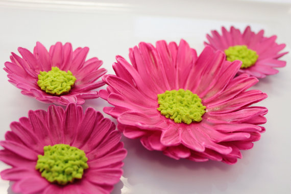 For the Bride Who Loves Gerbera Daisies