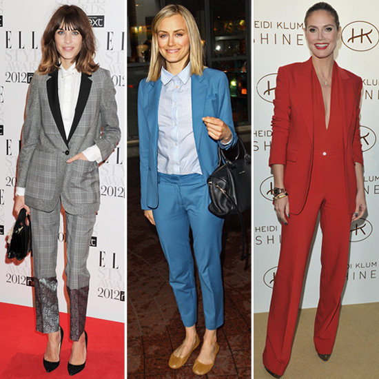 The Power Suit — 26 Celebs Show How to Wear It For Work and Play!