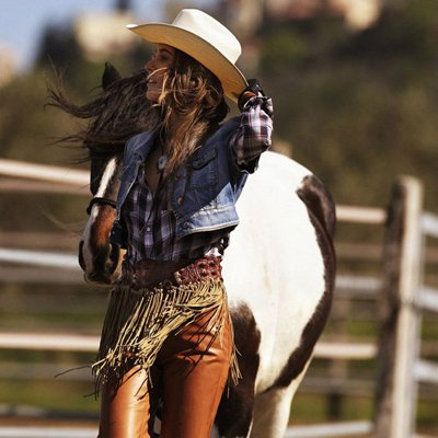 Western-Inspired Clothes Spring 2012