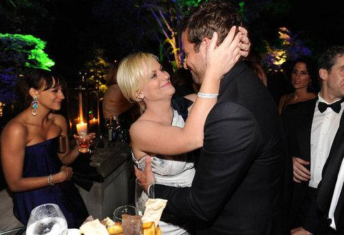 Amy Poehler and Bradley Cooper