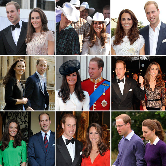 The Top 100 Pictures From William and Kate's 1st Year of Marriage