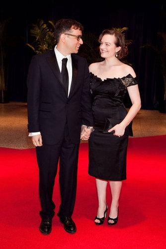 Fred Armisen and Elisabeth Moss