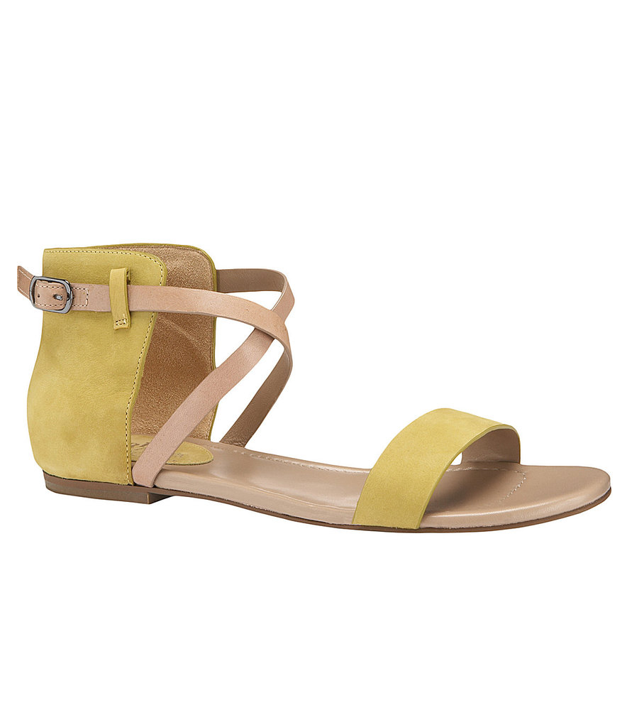 Add color to your outfit via this two-toned criss-cross sandal. Maria Sharapova by Cole Haan Air Catalina Flat Sandals ($168)