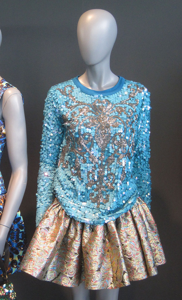 Cool-Girl Gone Baroque: Asos Channels Opulence With Statement Prints and Texture For Fall '12