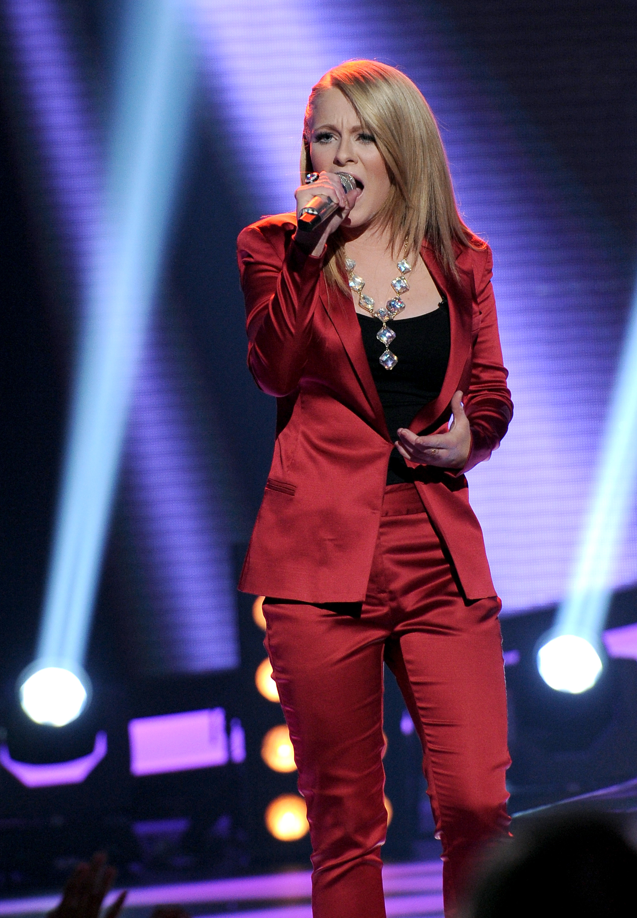 Hollie Cavanagh impressed the judges with her closing ballad.