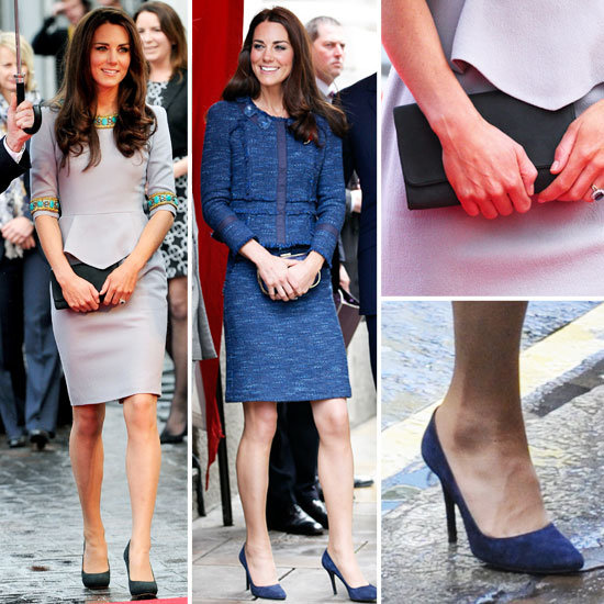 Kate Middleton Wears the Peplum Trend Twice! See her Matthew Williamson and Rebecca Taylor Outifts, From All Angles!