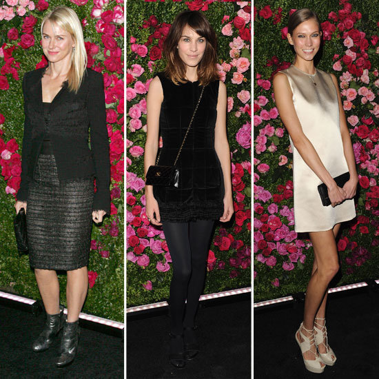 Alexa Chung, Naomi Watts, Karlie Kloss, Poppy Delevingne & More Step Out for Chanel's Artist Dinner at the Tribeca Film Festival