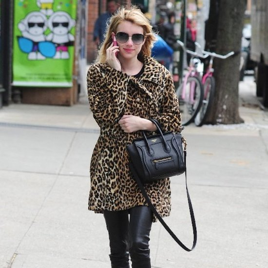 Celebrities in Leopard