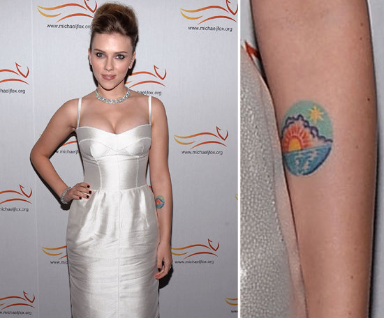 "Scarlett Johansson picked a colorful sunrise scene in 2007. She's since said, ""It makes me happy when I look at it."""