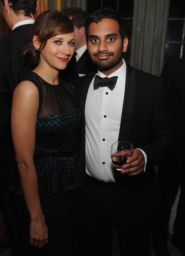 Aziz Ansari and Rashida Jones posed together at the White House Correspondant's Dinner.