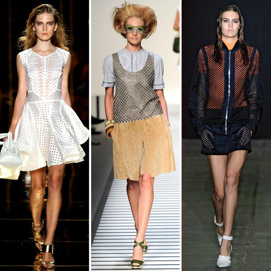 Best Perforated Pieces For Spring 2012